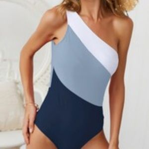 Other - One Piece One Shoulder Women's Bathing Suit